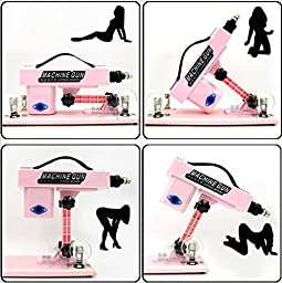 Adult Full automatic toy fast thrust telescopic safe sex add machine (Pink)