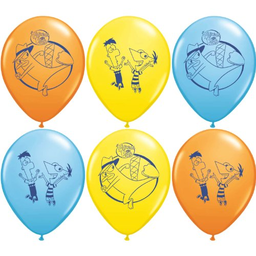 Phineas Party Supplies Latex Balloons product image
