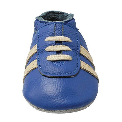Pictures of YIHAKIDS Baby Sneaker Genuine Leather Soft Suede 3