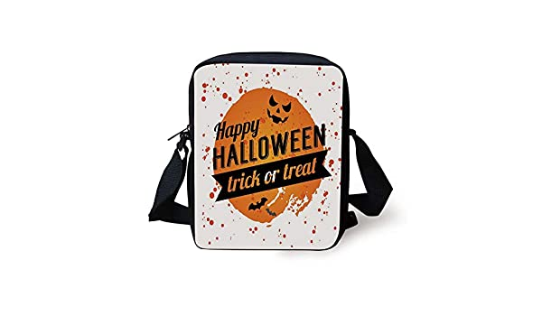 Watercolor Pumpkins Messenger Bag Cross Body Laptop School Work Bag