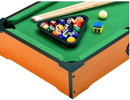 YuYzHanG Mini Mesa De Billar Mini Mesa de Billar de Juguete de Escritorio Juego de la Piscina Billar Cue Club Hijos Adultos Table Top Pool Game (Color, Size : 31x51.5x9cm): Amazon.es: Hogar