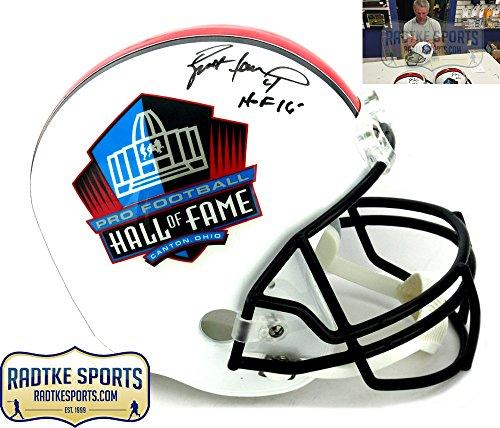 Brett Favre Autographed/Signed Riddell Pro Football HOF Full Size Helmet -