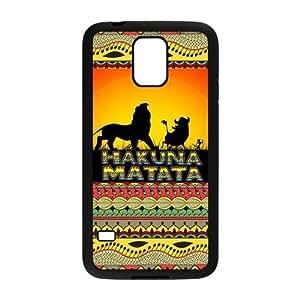 Fashion Hardshell Snap-on Back Cover Case for Samsung Galaxy S5 - Hakuna Matata