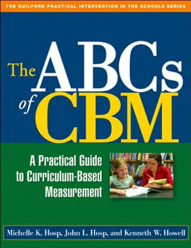 Download The ABCs of CBM (text only) (Lay-Flat Paperback) edition by M. K. Hosp PhD,J. L. Hosp PhD,K. W. Howell PhD PDF