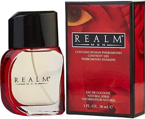 REALM by Erox COLOGNE SPRAY 1 OZ for MEN ---(Package Of 3)