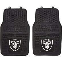FANMATS NFL Oakland Raiders Vinyl Heavy Duty Car Mat