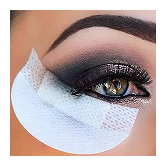 Sozzumi Eyeshadow Shields Under Eye Patches Disposable, Prevent Eyelash Extensions Pads and Eye Tips Sticker Wraps Make