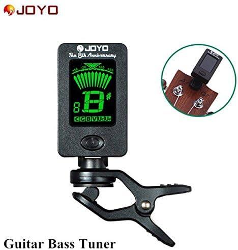 PhilMat Joyo JT-01 afinador cromático afinador de guitarra ...