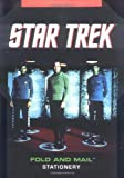 img - for Star Trek Fold and Mail Stationery book / textbook / text book