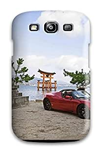 Cynthaskey EqmJDUC13768RgYZf For Case Samsung Note 4 Cover Protective Case Tesla Roadster 36