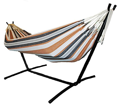 Omni Stand (Shop4Omni Omni Two Person Hammock with Compact Steel Stand and Case (Tan/Navy))