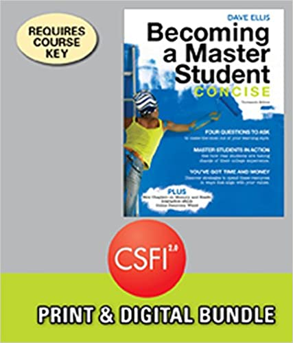 Becoming a Master Student: Concise