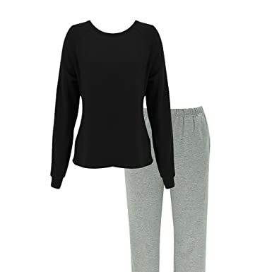 8086a467b Women Pajamas Sleepwear Long Sleeve Soft Warm Fleece Thermal 2 Piece PJ  (X-Small