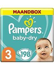 Pampers Baby-Dry luiers maanddoos