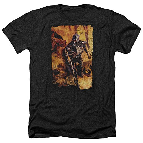 Unisex Terminator Bodies Adult T-Shirt, Black - XL only