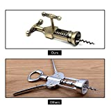 Sunnyac Bronze Red Wine Corkscrew Opener, Zinc