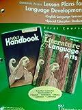 Holt Literature and Language Arts, Grade 7, Holt, Rinehart and Winston Staff, 0030651220