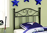 Cheap Twin Headboard Dark Bronze