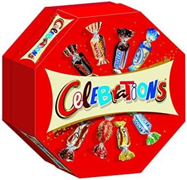 Celebrations Caja de Mix de Chocolatinas en formato Mini: Amazon.es: Alimentación y bebidas
