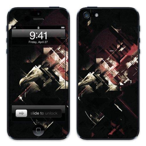 Diabloskinz B0081-0034-0036 Vinyl Skin für Apple iPhone 5/5S Wake