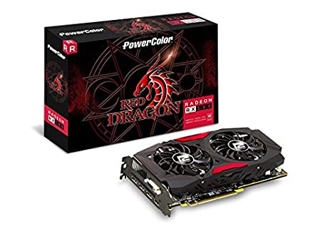 PowerColor Red Dragon AXRX 580 8GBD5-3DHD/OC - Tarjeta ...