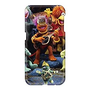 Scratch Resistant Hard Phone Cases For Samsung Galaxy S6 (jjC10453BOuC) Unique Design High-definition Fraggle Rock Image