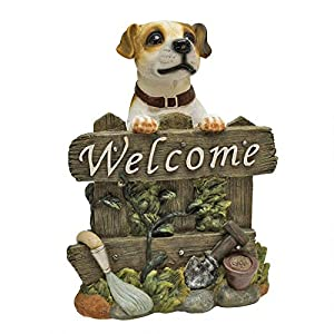 Design Toscano Jack Russell Terrier Dog Welcome Statue 3