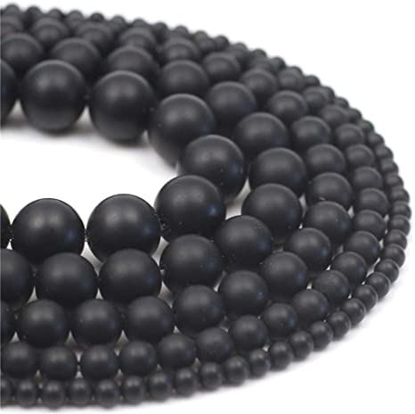 "10mm Black Agate Round Loose Beads Gemstone Beads 15/"" Strand"