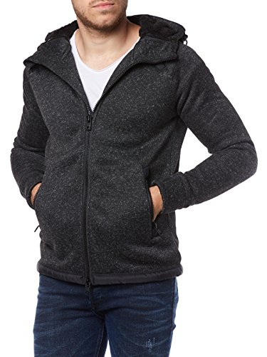 Gritty Black Superdry Modele Storm Double Sweat Ziphood Hqx4S07nw