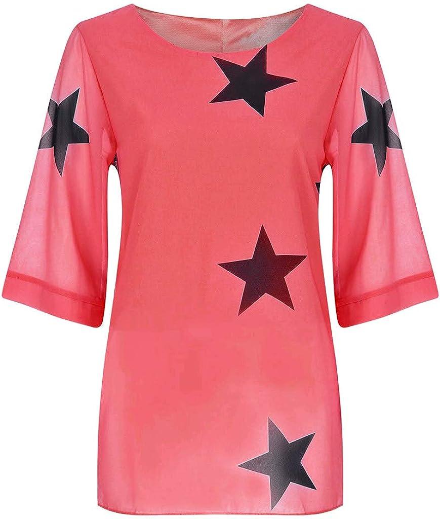 TWGONE Star Blouse Women...