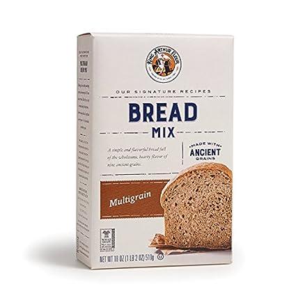 King Arthur - Mezcla de pan multigrano de harina de 18.24 oz ...