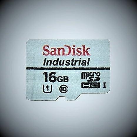 SanDisk Industrial 16 GB MicroSD SDHC UHS-1 Class 10 tarjeta ...