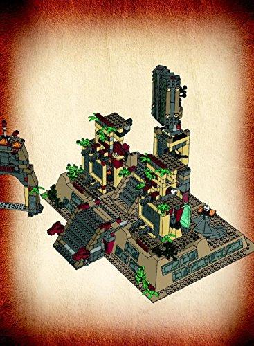 Instruction Manuals For Lego Indiana Jones Set 7627 Temple