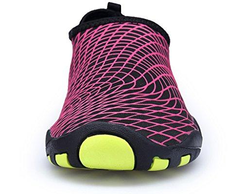 Shoes Quick Lightweight Kids Sports Swim Sneaker Men walker Women Redprint Dry Beach Cool Aqua Barefoot Water for wUqX10wA