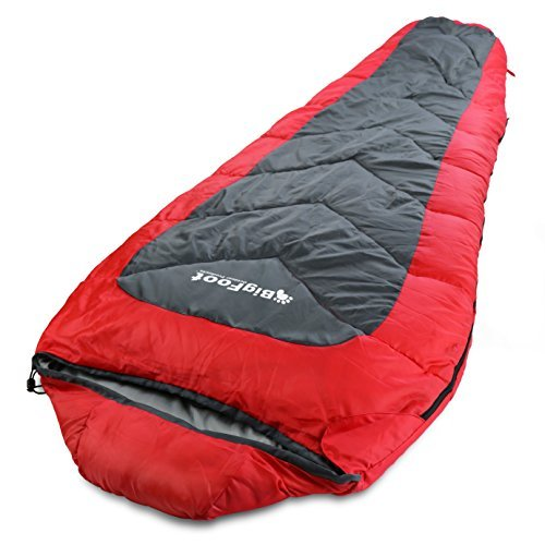 Bigfoot Sleeping Bag - Bigfoot Outdoor Sleeping Bag 1.8kg Mummy