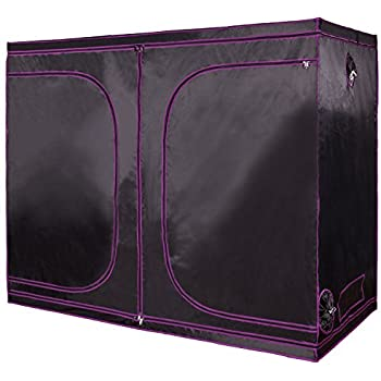 Apollo Horticulture 96u201dx48u201dx80u201d Mylar Hydroponic Grow Tent for Indoor Plant Growing  sc 1 st  Amazon.com & Amazon.com : Best Choice Products Reflective Mylar 96