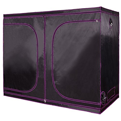 "Apollo Horticulture 96""x48""x80"" Mylar Hydroponic Grow Tent for Indoor Plant Growing by Apollo Horticulture"