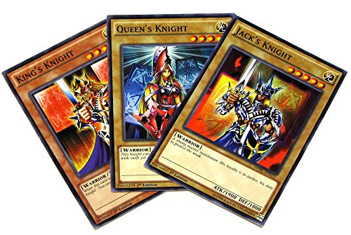 Yu-Gi-Oh Duelist Pack Battle City Knight Set of all 3 Single