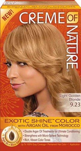 Creme Of Nature Exotic Shine Color Light Golden Blonde 9