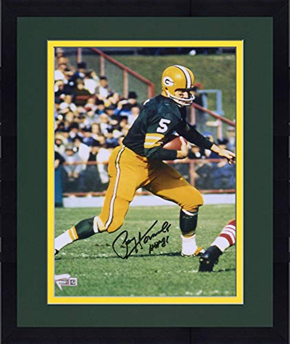 Framed Paul Hornung Green Bay Packers Autographed 8