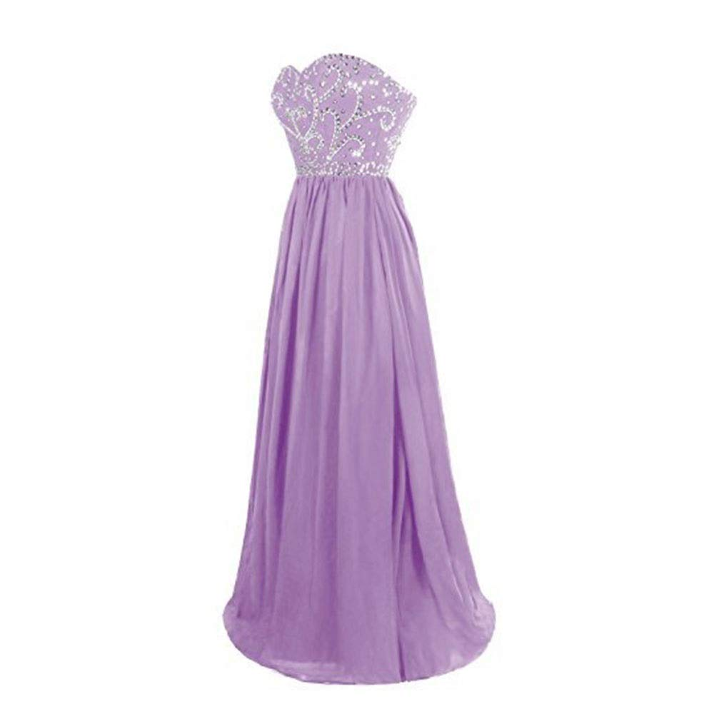 Purple MISSKERVINFENDRIYUN Womens Formal Off the Shoulder Party Maix Evening Dress Cocktail Dress