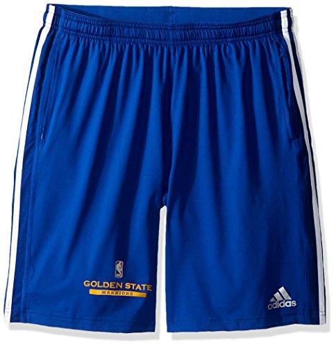 Warriors Nba Team (NBA Golden State Warriors Adult Men Enough Said Team Issue Short, Large, Blue)