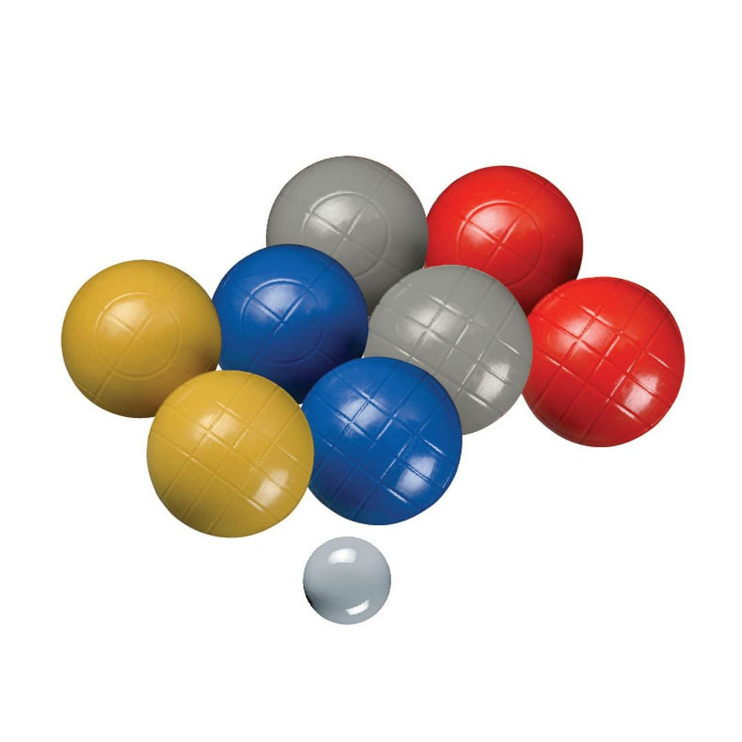 Sportcraft 90MM Molded Bocce Ball In Carry Bag Play Set
