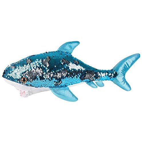 Adventure Planet Reversible Mermaid Sequins Great White Shark 18