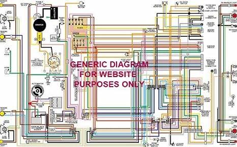 amazon.com: full color laminated wiring diagram fits 1973 amc ... 1973 amc wiring diagram g body wiring diagram amazon.com
