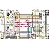 [SCHEMATICS_4UK]  Amazon.com: Full Color Laminated Wiring Diagram FITS 1972 1973 DATSUN 240Z  Large 11