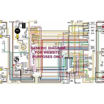 1970 1971 datsun 240z 11 x 17 laminated color wiring diagram automotive. Black Bedroom Furniture Sets. Home Design Ideas