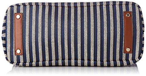 Mac Douglas Damen Everton Paloma Schultertasche, 15x26x35 centimeters Blau (Marine)