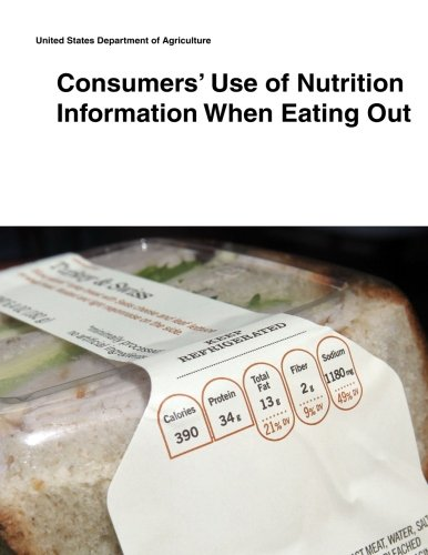 Download Consumers' Use of Nutrition Information When Eating Out pdf