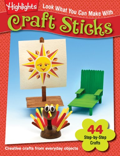 Look What You Can Make With Craft Sticks: - Can We Make A Star On Earth